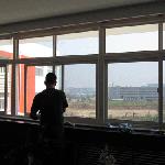 烟台开发区单位大楼玻璃tiemo