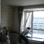 烟台莱shanfeng凰xin城家庭玻璃tie膜