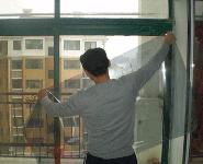 yan台聚星娱le代理玻璃贴膜流程